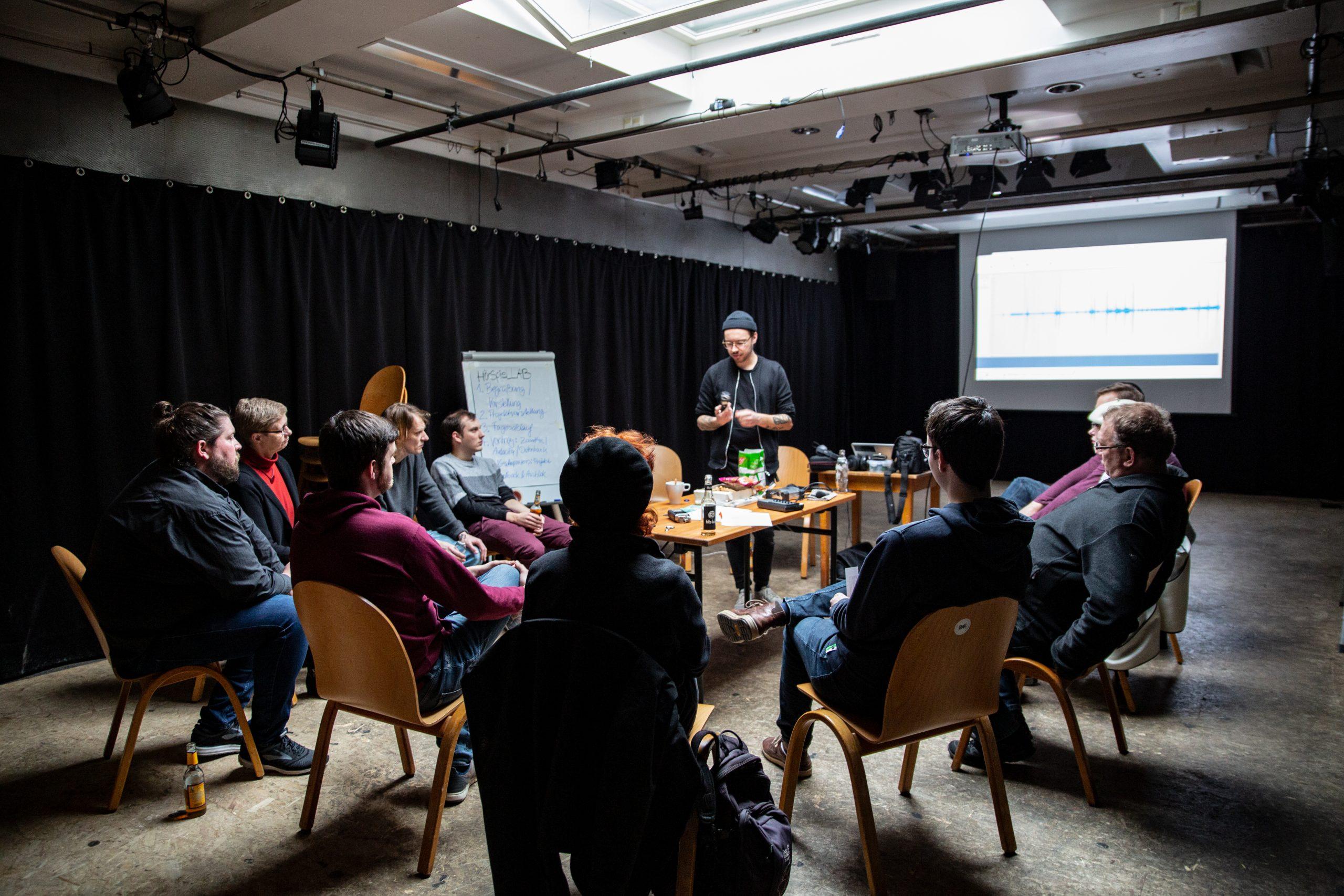 """Workshop: """"Zoom H4 und Audacitiy"""""""